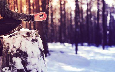 Yoga in de winter